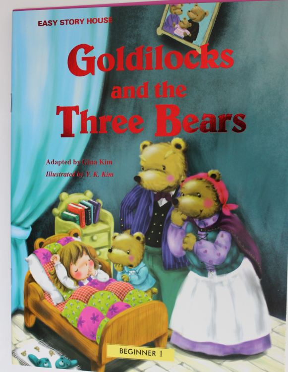 Goldilocks and the Three Bears 絵本